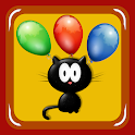 Drop the Cat (catch all mice) icon