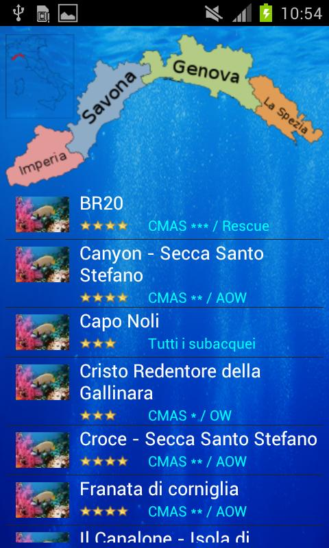 Il Subacqueo v1- screenshot