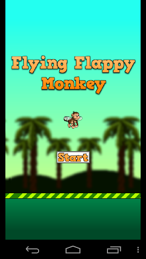 Flying Flappy Monkey
