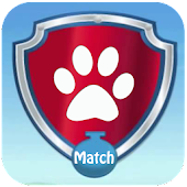 Paw Puppy Patrol Match 2 Game