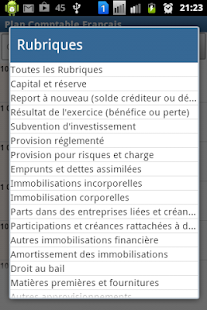 Plan Comptable Français- screenshot thumbnail