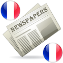 French Newspapers and News icon