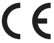 Products bearing the CE marking comply with the EU directives identified on the applicable Declaration of Conformity.