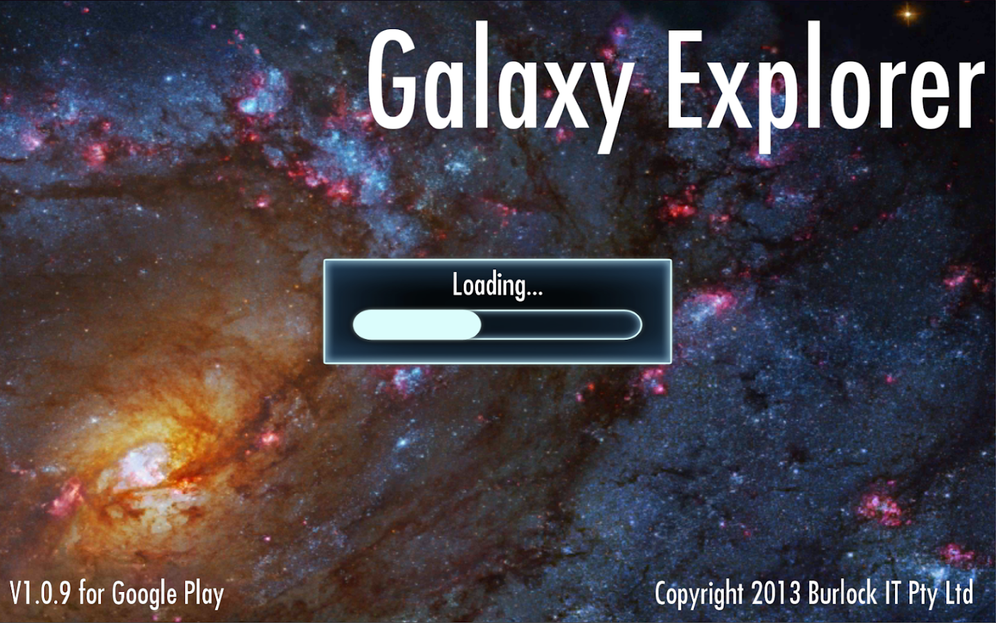 Galaxy Explorer- screenshot