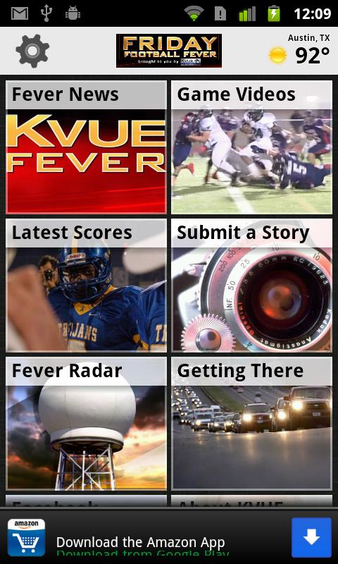 KVUE Friday Football Fever - screenshot