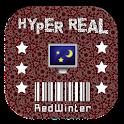 HyperReal Wallpaper- RedWinter