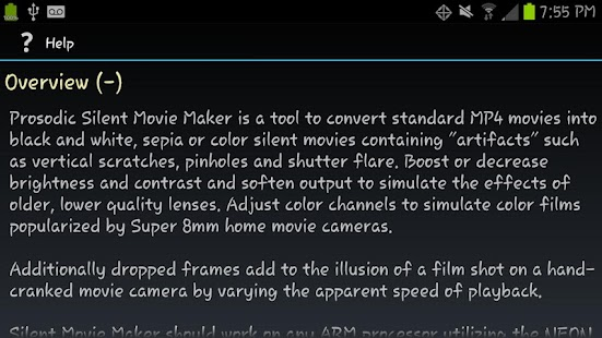 Silent Movie Maker (Free) - screenshot thumbnail