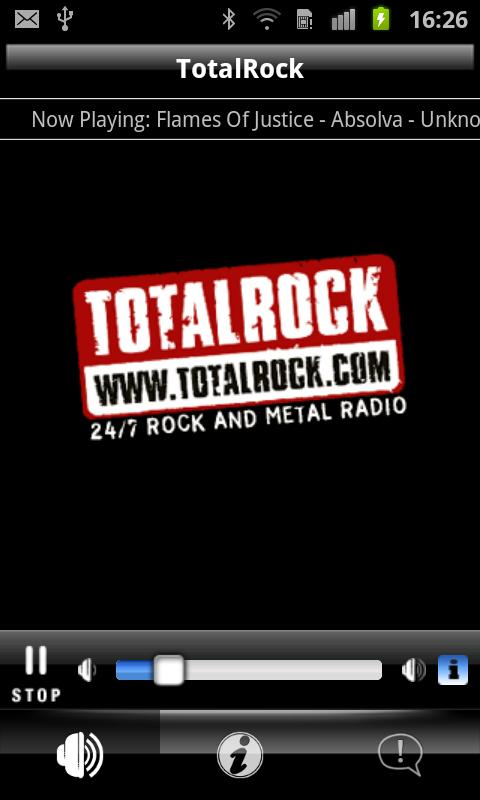 TotalRock - screenshot