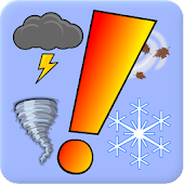 NWS Weather Alerts Widget