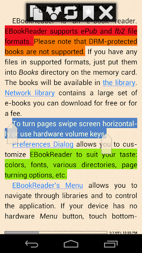 EBook Reader EPUB Reader