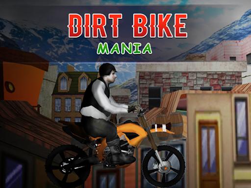 ダートバイクオートバイゲーム