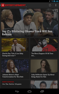 Huffington Post - screenshot thumbnail