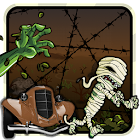Run 'em over (ram the zombies) icon