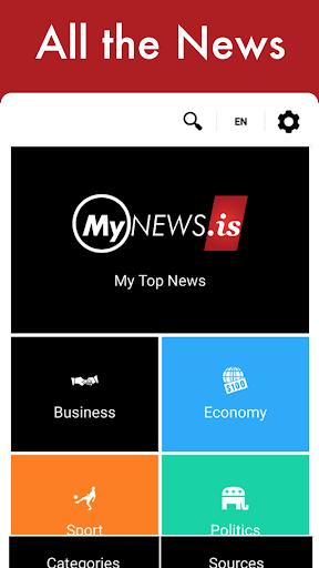 MyNews.is - Intelligent News