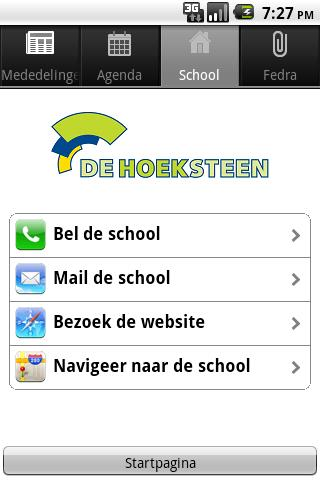 De Hoeksteen- screenshot