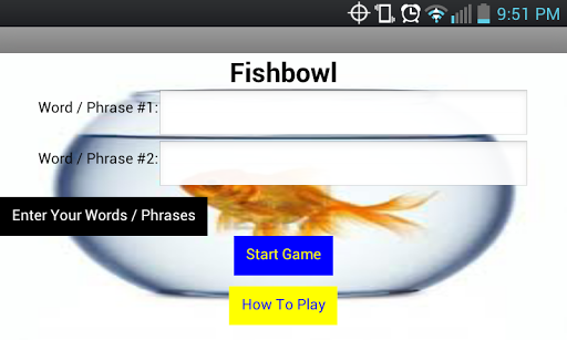 Fishbowl - The Group Game