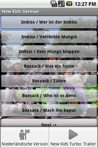 New Kids Deutsch Soundboard - screenshot