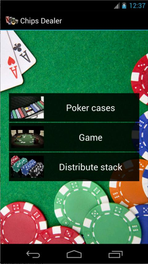 Poker Chips Dealer - screenshot