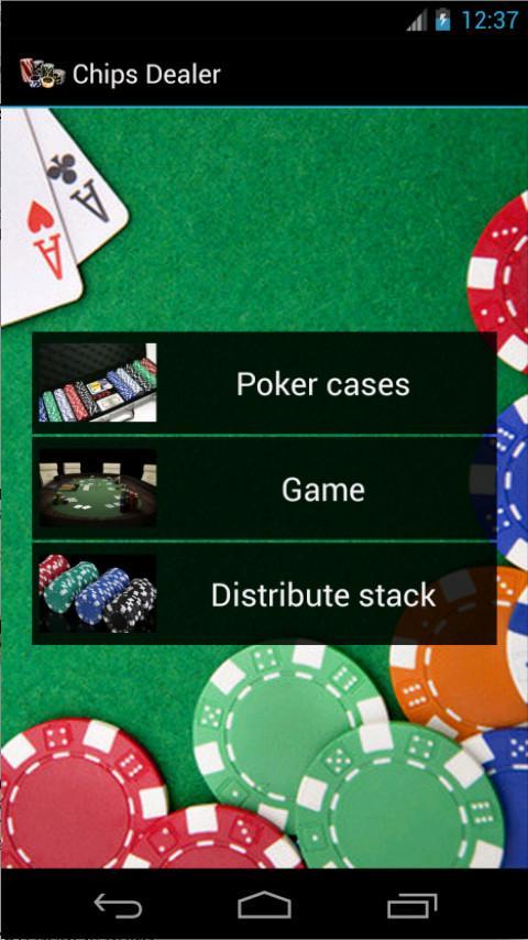 Poker Chips Dealer- screenshot