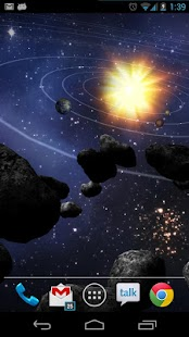 Asteroid Belt Free L Wallpaper- screenshot thumbnail