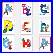 Alphabet Memory Game Kids ABCD