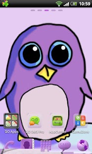 Go Launcher EX Theme Penguin- screenshot thumbnail