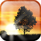 Sunset Silhouette LWP icon