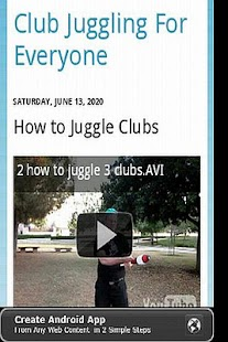 Learn to Juggle Clubs - screenshot thumbnail
