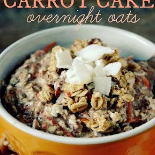 Vegan & GF Carrot Cake Overnight Oats
