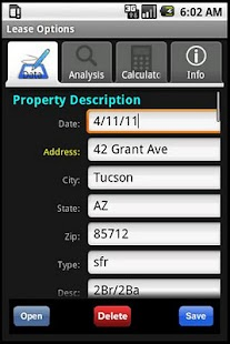 Lease Option Evaluator- screenshot thumbnail