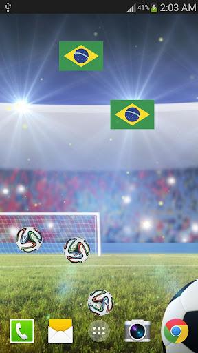 ブラジルサッカーライブ壁紙