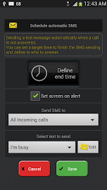 Auto Answer - Whistle & SMS Screenshot 5