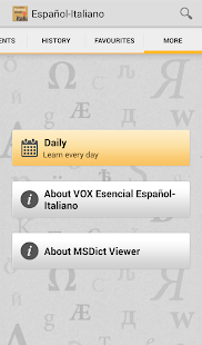 Vox Essential Italian<>Spanish- screenshot thumbnail