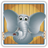 Elephant Memory Match for Kids
