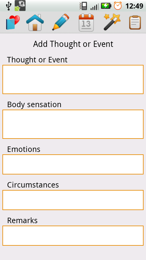 Cognitive Diary Cbt Android Apps On Google Play