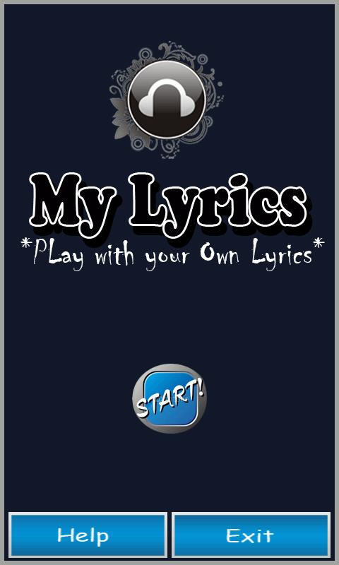 MY Lyrics - screenshot