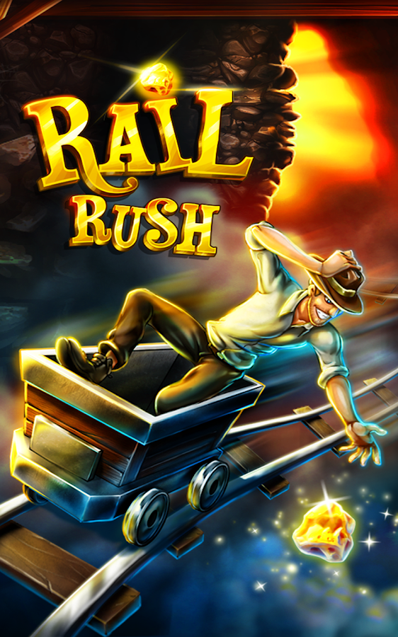 Screenshots of Rail Rush for iPhone