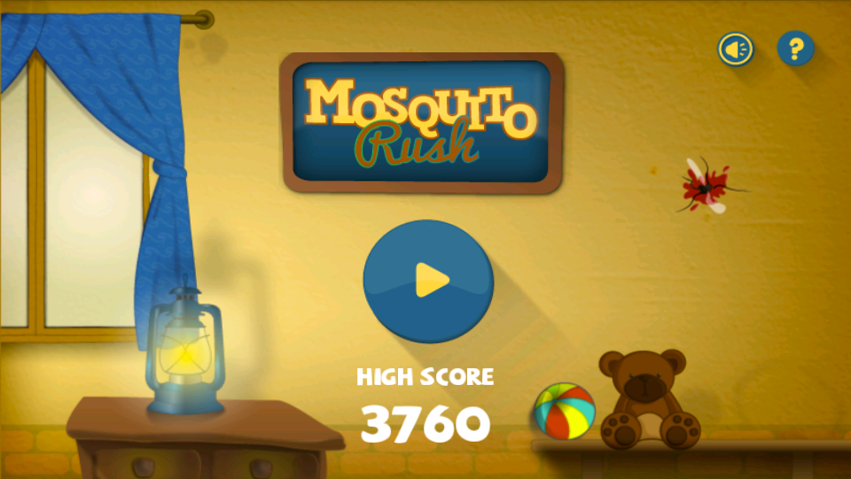Mosquito Rush- screenshot