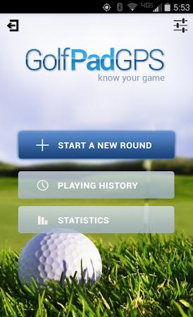 Golf GPS Rangefinder: Golf Pad 11.17 screenshot 351872