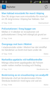 Polisens RSS - screenshot thumbnail