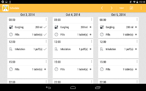 Pilluling screenshot for Android