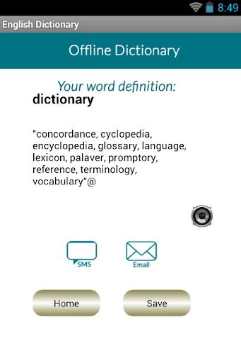 【免費生活App】Eng to Eng Dictionary-APP點子