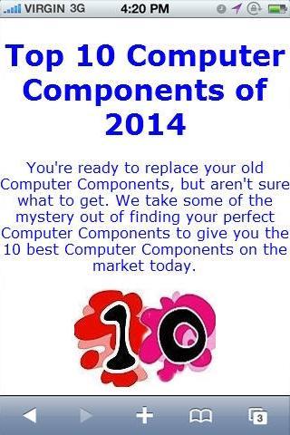 Computer Component Reviews