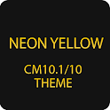 CM10.1/10 Theme Neon Yellow icon