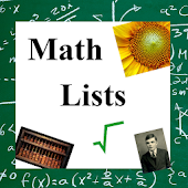 Math Lists