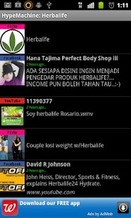 Herbalife on BuzzTrends- screenshot thumbnail