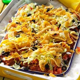 Texas Taco Platter.