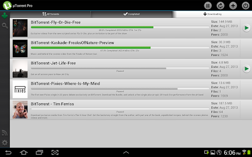 µTorrent® Pro - Torrent App - screenshot thumbnail