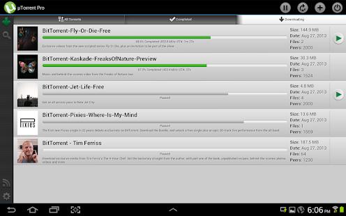 µTorrent® Pro - Torrent App - screenshot thumbnail
