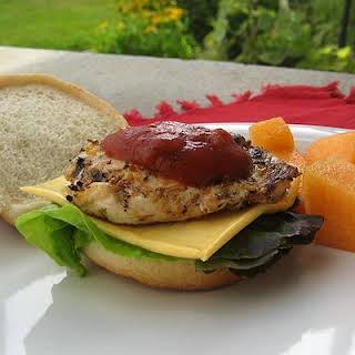 Cheesy Chicken Sandwiches Recipes.